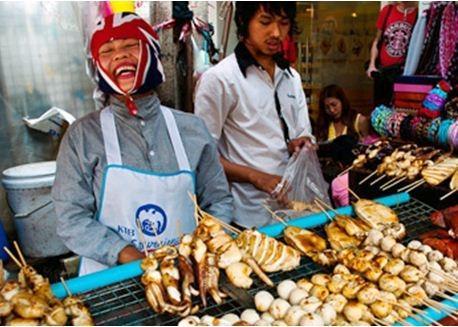 10 món ăn đường phố ngon hàng đầu thế giới