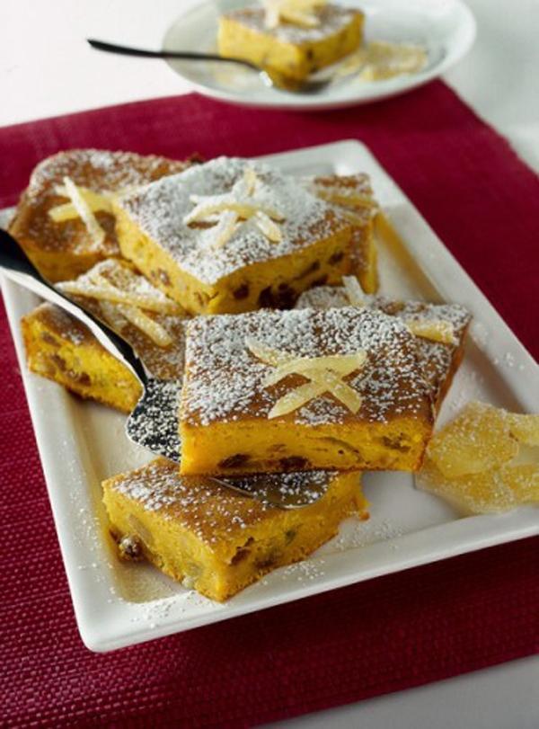 Bánh bí ngô ngọt ngào hấp dẫn