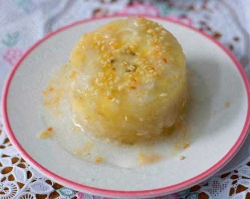 Bánh chuối hấp ngon lạ miền Nam