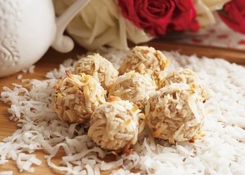 Bánh dừa giòn thơm ăn là mê