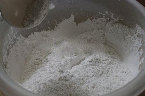 Bánh ít nếp cẩm - hồn quê mộc mạc