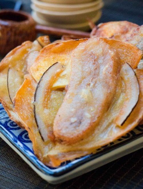 Bánh khoai chuối giòn thơm cho cả nhà