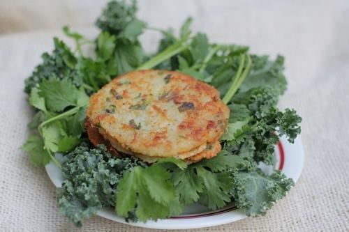 Bánh rế khoai tây, món ăn sáng cho bé
