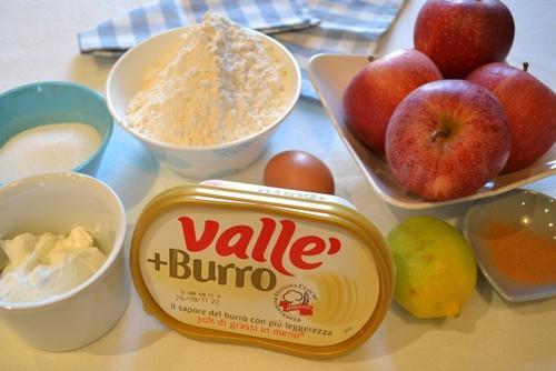 Bánh táo sữa chua thơm lừng