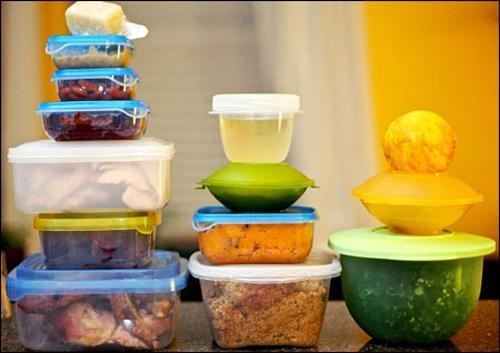 Bảo quản thức ăn thừa trong bếp