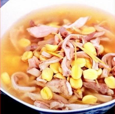 Bao tử hầm hạt sen ngon bổ dưỡng