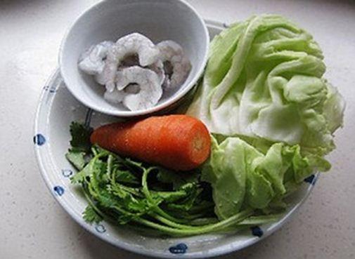 Bắp cải cuộn tôm ngon miệng bổ dưỡng