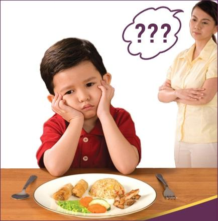 Biếng ăn ở trẻ em