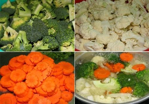 Bông cải xào thịt bò