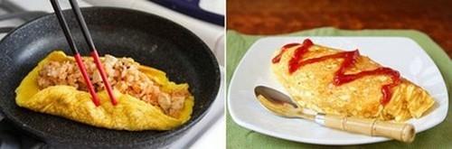 Bữa trưa ngon miệng với món trứng bọc cơm