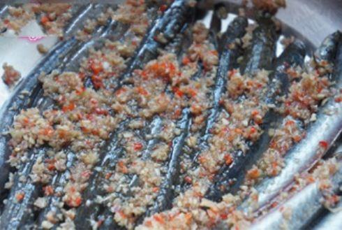 Cá kèo nướng sả ớt