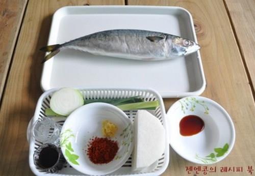 Cá kho theo kiểu Hàn Quốc