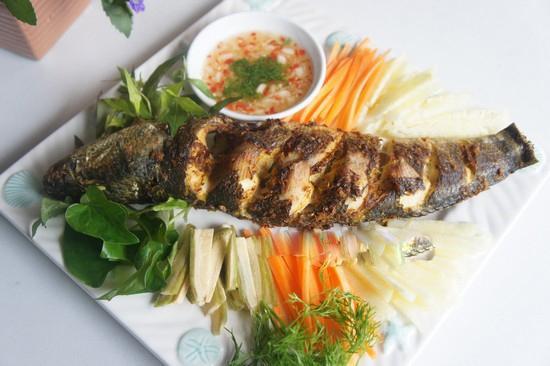 Cá nướng riềng sả - món nhậu cuối tuần