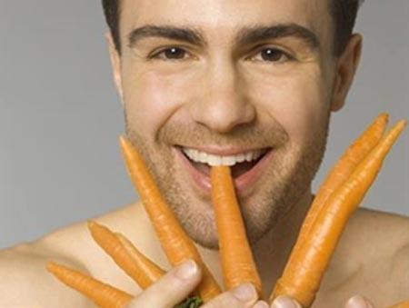 Cà rốt có thể cải thiện khả năng sinh sản của nam giới