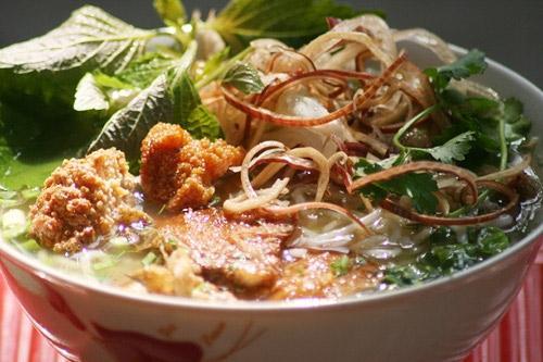 Các quán bún cá ngon ở Hà Nội