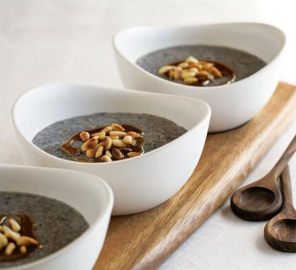 Cháo vừng đen - món chay bổ dưỡng