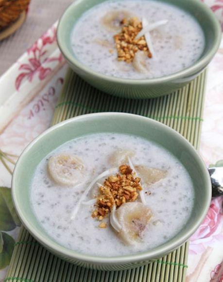 Chè chuối nước cốt dừa