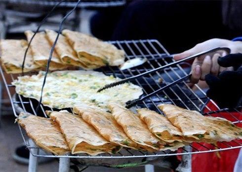 Chuối nếp nướng đứng đầu bảng ở lễ hội món ăn đường phố