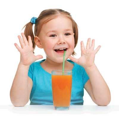 Có nên cho bé uống nước ngọt có ga?