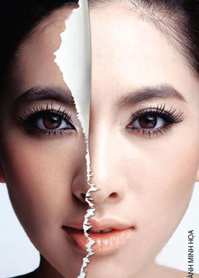 Công thức hiệu quả tẩy bã nhờn vùng mặt