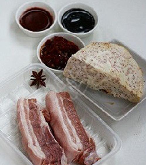 Công thức thịt hấp khoai môn hấp dẫn