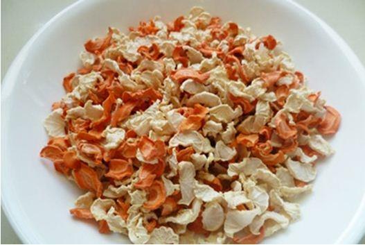 Củ cải muối chống ngán ngày tết