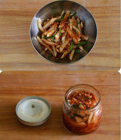 Củ cải trắng muối cay
