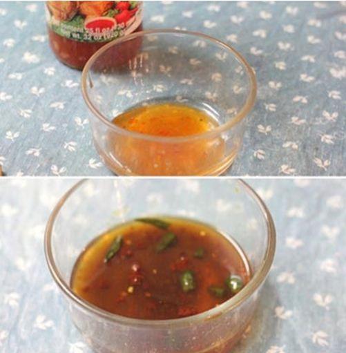 Đậu phụ non tẩm bột sốt chua cay