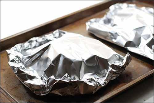 Dùng giấy bạc trong chế biến thức ăn: chỉ tốt khi dùng đúng