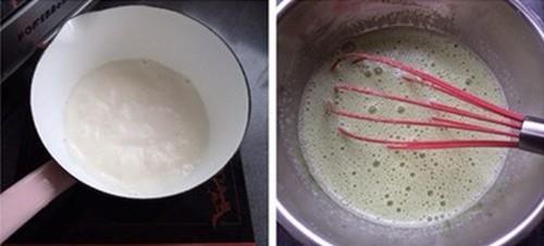 Giải nhiệt ngày hè với kem trà xanh mát lạnh