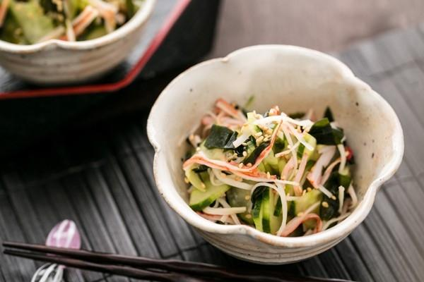 Giòn ngon món salad dưa leo kiểu Nhật