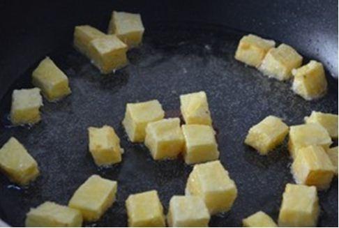 Khoai tây bọc đường ngon tuyệt