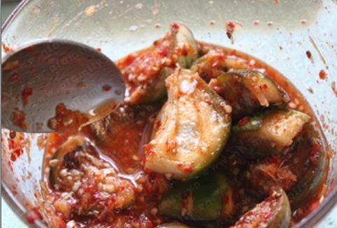 Kim chi cà bát - chua cay lạ miệng