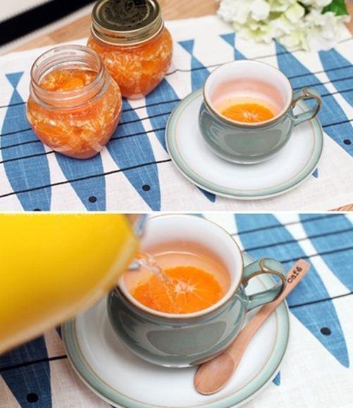 Làm nước quýt ngọt thơm nhâm nhi ngày giao mùa