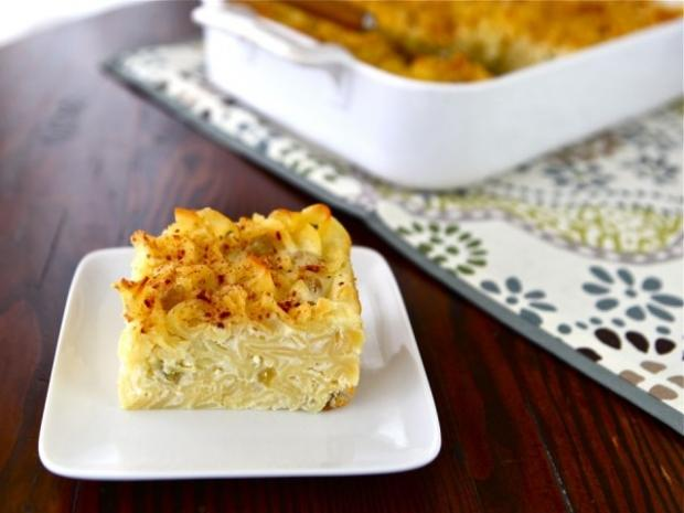 Lokshen Kugel - món bánh ngọt làm từ mì