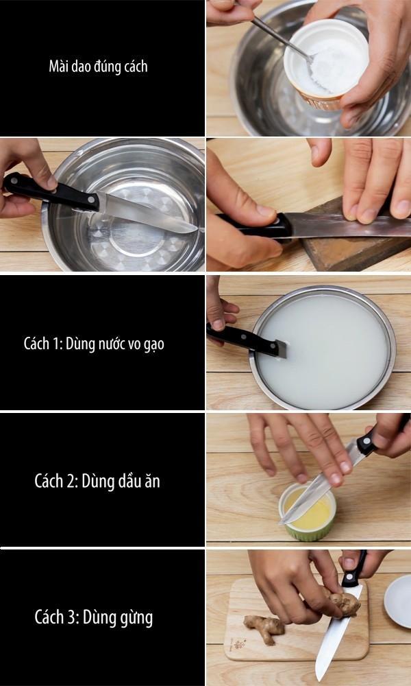 Mách bạn cách bảo quản dao tốt y như mới