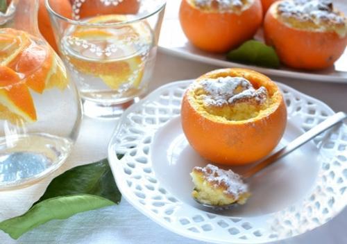 Mềm mịn thơm phức món bánh cam