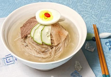 Mì lạnh Hàn Quốc cho ngày nóng