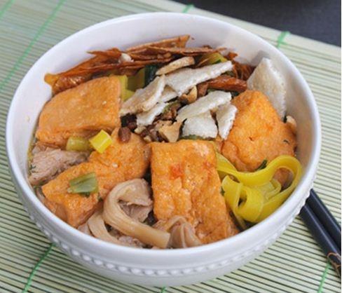 Mì Quảng chay