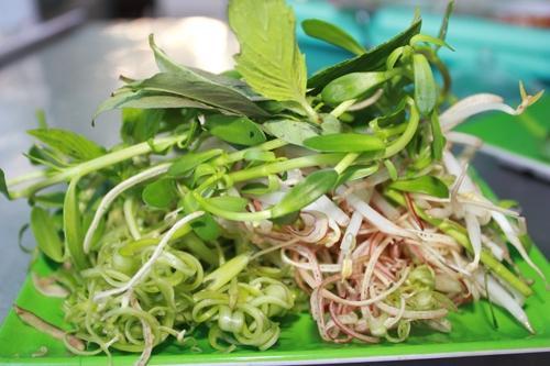 Món bún cá ngon xứ Châu Đốc