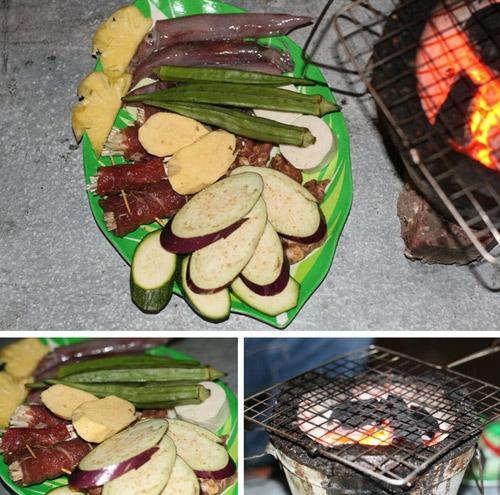 Món nướng Sapa, phong cách núi rừng ở Hà Nội