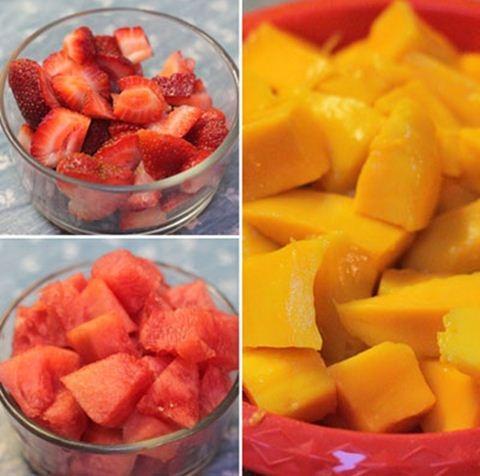 Mùa hè giải nhiệt với kem que trái cây