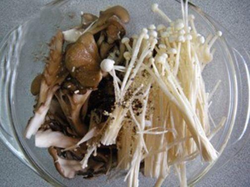 Nấm chiên vừng - món chay ngày đầu tháng