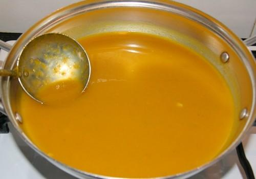 Ngọt bùi soup bí đỏ