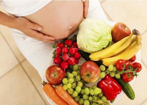 Nguyên tắc ăn uống chung cho các bà bầu