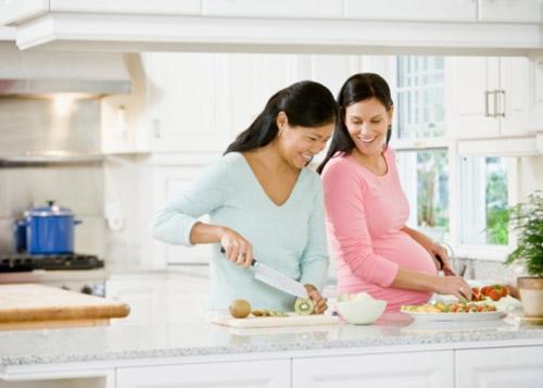 Nguyên tắc ăn uống có lợi cho mẹ bầu