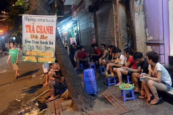 Những phố trà chanh 'hot' nhất Hà Nội