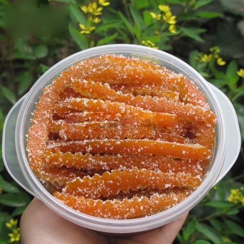Phòng ho cho cả nhà với món mứt vỏ cam mật ong