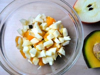 Salad cam màu sắc, dễ làm đẹp mắt