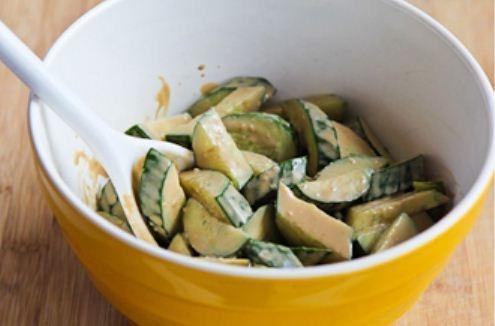 Salad dưa chuột vừa mát vừa giòn